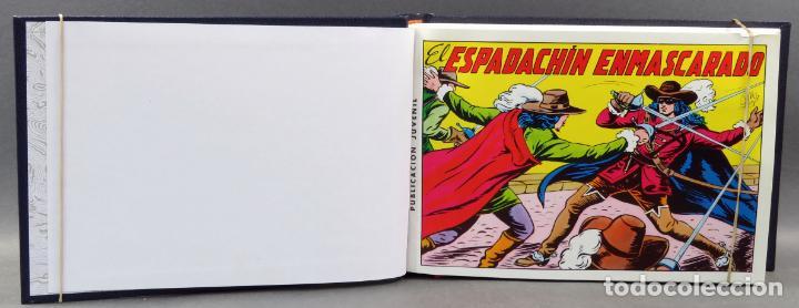 ESPADACHÍN ENMASCARADO EDITORA VALENCIANA 1981 COMPLETO Nº 1 AL 84 4 TOMOS ENCUADERNADOS 2ª EDICIÓN (Tebeos y Comics - Valenciana - Espadachín Enmascarado)