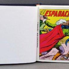 Tebeos: ESPADACHÍN ENMASCARADO EDITORA VALENCIANA 1981 COMPLETO Nº 1 AL 84 4 TOMOS ENCUADERNADOS 2ª EDICIÓN. Lote 149204866