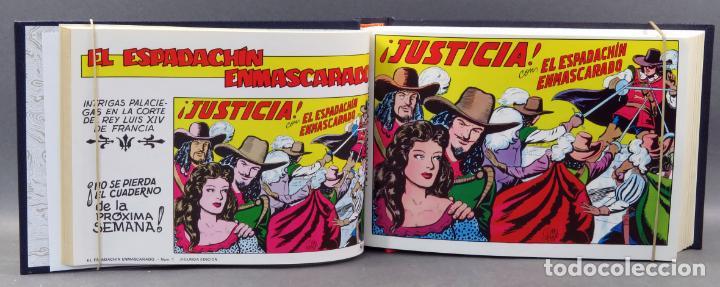 Tebeos: Espadachín Enmascarado Editora Valenciana 1981 completo nº 1 al 84 4 tomos encuadernados 2ª edición - Foto 2 - 149204866