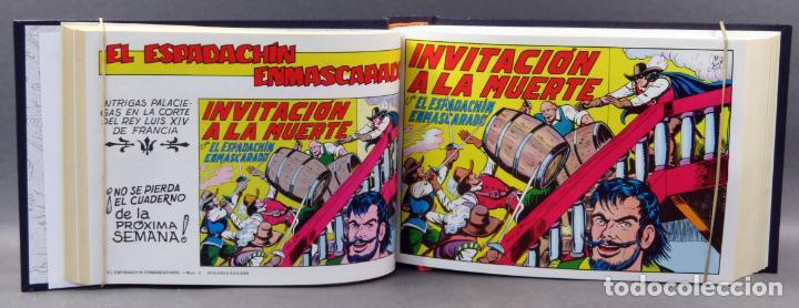 Tebeos: Espadachín Enmascarado Editora Valenciana 1981 completo nº 1 al 84 4 tomos encuadernados 2ª edición - Foto 3 - 149204866