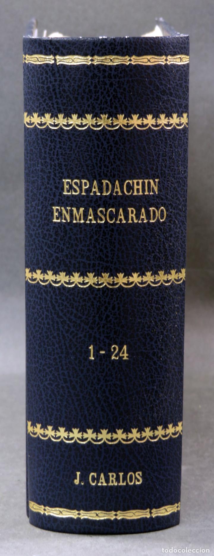 Tebeos: Espadachín Enmascarado Editora Valenciana 1981 completo nº 1 al 84 4 tomos encuadernados 2ª edición - Foto 5 - 149204866