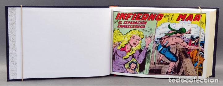 Tebeos: Espadachín Enmascarado Editora Valenciana 1981 completo nº 1 al 84 4 tomos encuadernados 2ª edición - Foto 6 - 149204866