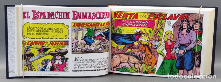 Tebeos: Espadachín Enmascarado Editora Valenciana 1981 completo nº 1 al 84 4 tomos encuadernados 2ª edición - Foto 7 - 149204866