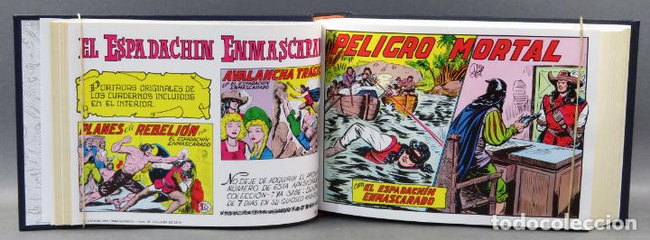 Tebeos: Espadachín Enmascarado Editora Valenciana 1981 completo nº 1 al 84 4 tomos encuadernados 2ª edición - Foto 8 - 149204866