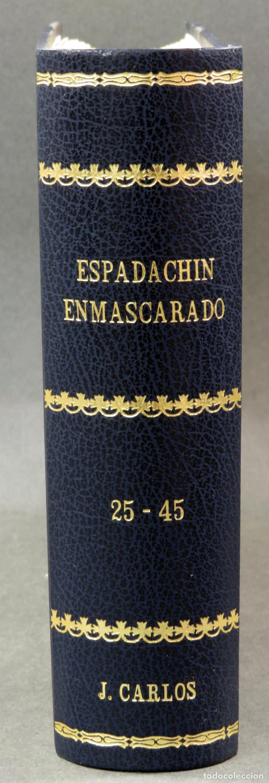 Tebeos: Espadachín Enmascarado Editora Valenciana 1981 completo nº 1 al 84 4 tomos encuadernados 2ª edición - Foto 10 - 149204866