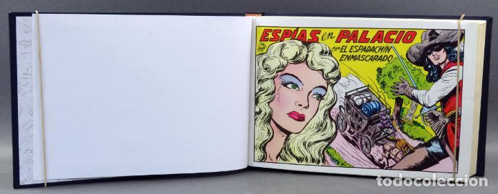 Tebeos: Espadachín Enmascarado Editora Valenciana 1981 completo nº 1 al 84 4 tomos encuadernados 2ª edición - Foto 11 - 149204866