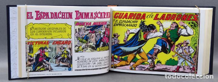 Tebeos: Espadachín Enmascarado Editora Valenciana 1981 completo nº 1 al 84 4 tomos encuadernados 2ª edición - Foto 12 - 149204866