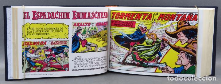 Tebeos: Espadachín Enmascarado Editora Valenciana 1981 completo nº 1 al 84 4 tomos encuadernados 2ª edición - Foto 13 - 149204866
