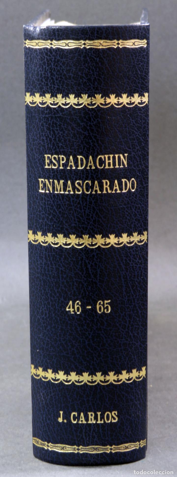 Tebeos: Espadachín Enmascarado Editora Valenciana 1981 completo nº 1 al 84 4 tomos encuadernados 2ª edición - Foto 15 - 149204866