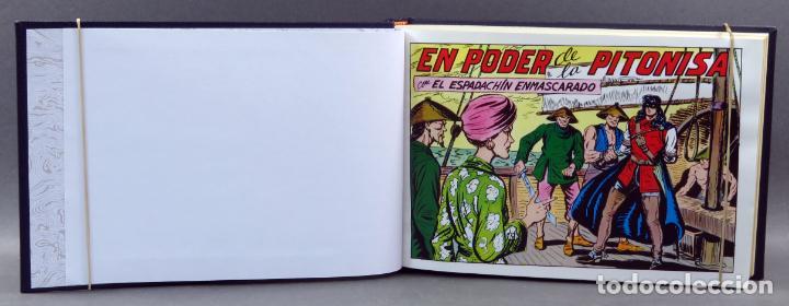Tebeos: Espadachín Enmascarado Editora Valenciana 1981 completo nº 1 al 84 4 tomos encuadernados 2ª edición - Foto 16 - 149204866