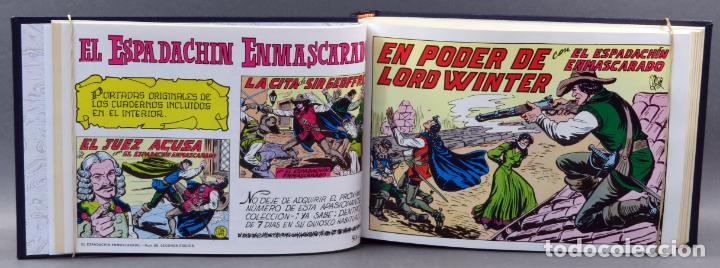 Tebeos: Espadachín Enmascarado Editora Valenciana 1981 completo nº 1 al 84 4 tomos encuadernados 2ª edición - Foto 17 - 149204866