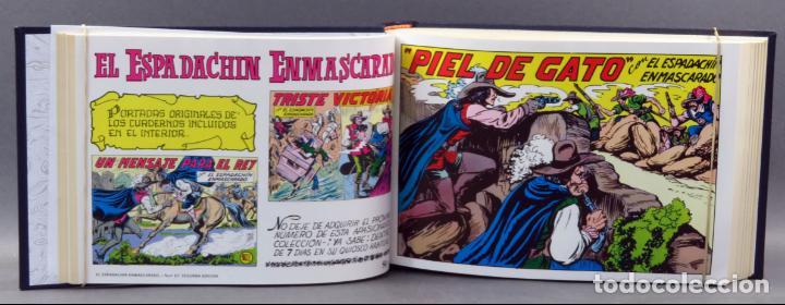 Tebeos: Espadachín Enmascarado Editora Valenciana 1981 completo nº 1 al 84 4 tomos encuadernados 2ª edición - Foto 18 - 149204866