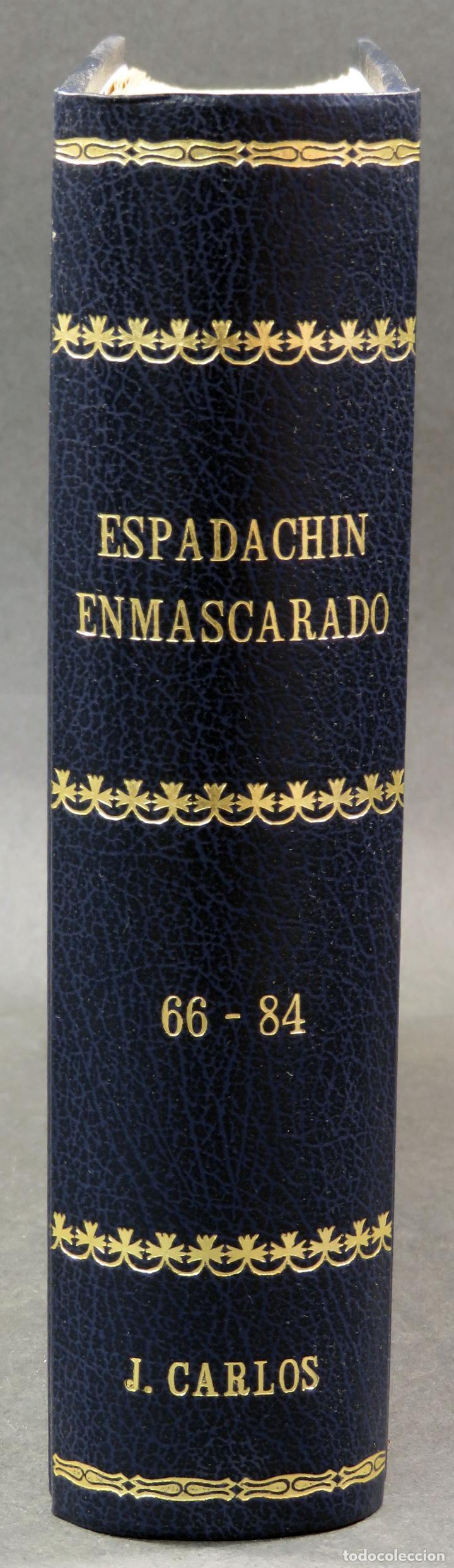 Tebeos: Espadachín Enmascarado Editora Valenciana 1981 completo nº 1 al 84 4 tomos encuadernados 2ª edición - Foto 20 - 149204866