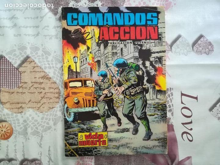 COMANDOS ACCION N 37 (Tebeos y Comics - Valenciana - Otros)