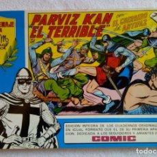 Tebeos: HOMENAJE A M. GAGO Nº 33 EL GUERRERO DEL ANTIFAZ PARVIZ KAN EL TERRIBLE 1981. Lote 149534962