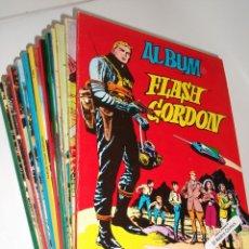 Tebeos: FLASH GORDON, COLECCIÓN COMPLETA 38 Nº, ED. VALENCIANA AÑO 1979, ALBUM. Lote 150294698