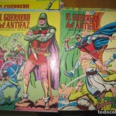 Tebeos: 74 NUMEROS EL GUERRERO DEL ANTIFAZ EDIVAL 1972.. Lote 150357590