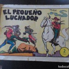 Tebeos: EL PEQUEÑO LUCHADOR Nº 1 EDITORIAL VALENCIANA 1945 ORIGINAL . Lote 150539498