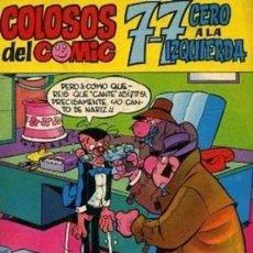Tebeos: COLOSOS DEL CÓMIC- Nº 1 - 7-7 CERO A LA IZQUIERDA-GRAN ROJAS DE LA CÁMARA-1972-BUENO-LEAN-0195. Lote 150577694