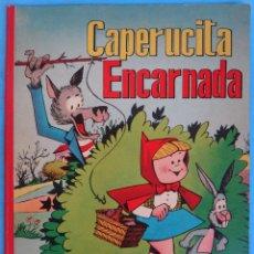 Tebeos: ESPECIAL CAPERUCITA ENCARNADA Y EL LOBO , VALENCIANA , ORIGINAL. Lote 151124962