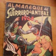 Tebeos: EL GUERRERO DEL ANTIFAZ. ALMANAQUE DE 1948. Lote 151519522
