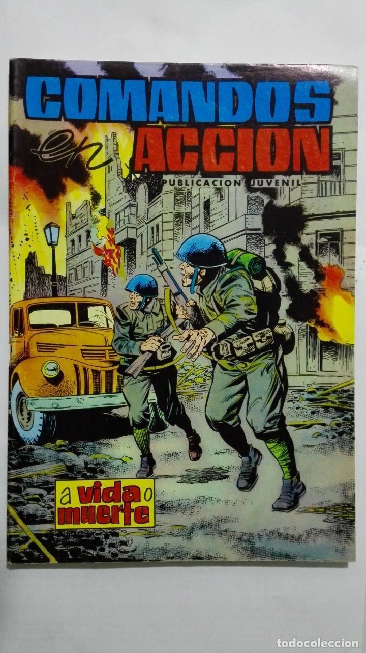 COMANDOS ACCION, Nº 37, EDITORIAL VALENCIANA (Tebeos y Comics - Valenciana - Otros)