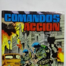 Tebeos: COMANDOS ACCION, Nº 37, EDITORIAL VALENCIANA. Lote 151677762