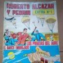 Tebeos: ROBERTO ALCAZAR Y PEDRIN- 2ª EPOCA , EXTRAORDINARIOS COMPLETA ,VALENCIANA DE 60 NºS, BUEN ESTADO. Lote 151958562