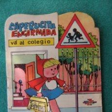 Tebeos: COLECCION PUMBY CAPERUCITA ENCARNADA VA AL COLEGIO EDITORIAL VALENCIANA 1965. Lote 151997482
