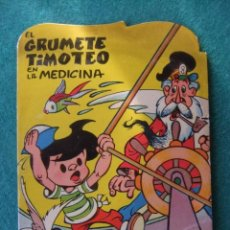 Tebeos: COLECCION PUMBY EL GRUMETE TIMOTEO EN LA MEDICINA EDITORIAL VALENCIANA 1965. Lote 151997714