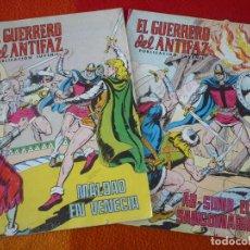 Tebeos: EL GUERRERO DEL ANTIFAZ 283 Y 284 PUBLICACION JUVENIL EDITORA VALENCIANA. Lote 152103598