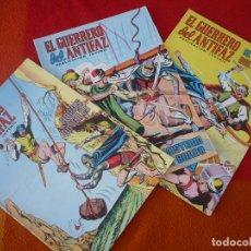 Tebeos: EL GUERRERO DEL ANTIFAZ NºS 245, 246 Y 247 PUBLICACION JUVENIL EDITORA VALENCIANA. Lote 152104566
