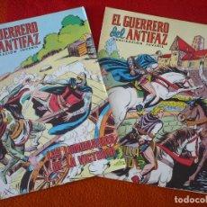 Tebeos: EL GUERRERO DEL ANTIFAZ NºS 242 Y 243 PUBLICACION JUVENIL EDITORA VALENCIANA. Lote 152105082