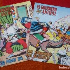Tebeos: EL GUERRERO DEL ANTIFAZ NºS 232 Y 233 PUBLICACION JUVENIL EDITORA VALENCIANA. Lote 152105610
