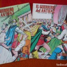 Tebeos: EL GUERRERO DEL ANTIFAZ NºS 203 Y 204 PUBLICACION JUVENIL EDITORA VALENCIANA. Lote 152106110