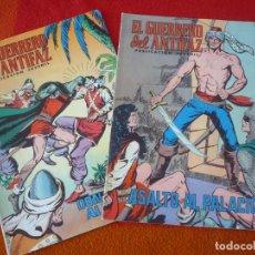 Tebeos: EL GUERRERO DEL ANTIFAZ NºS 134 Y 135 PUBLICACION JUVENIL EDITORA VALENCIANA. Lote 152106650