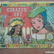 Tebeos: CORAZON DE ORO. VALENCIANA. CUENTOS GRAFICOS INFANTILES CASCABEL. 1958. Lote 152107762