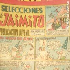 Tebeos: SELECCIONES DE JAIMITO 133. Lote 152359658