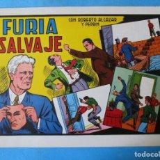 Tebeos: ROBERTO ALCAZAR Y PEDRIN Nº 136 ''FURIA SALVAJE''. Lote 152376570