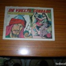 Tebeos: EL GUERRERO DEL ANTIFAZ Nº 132 EDITA VALENCIANA . Lote 152463438
