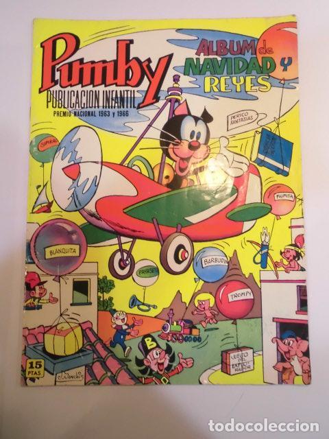 PUMBY ALBUM DE NAVIDAD Y REYES 1972 - EDITORIAL VALENCIANA (Tebeos y Comics - Valenciana - Pumby)