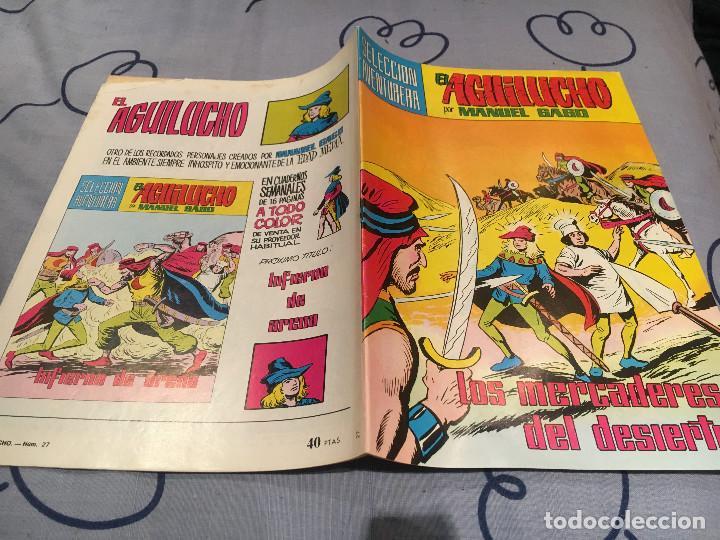 EL AGUILUCHO - Nº 27, LOS MERCADERES DEL DESIERTO - ED.VALENCIANA (Tebeos y Comics - Valenciana - Selección Aventurera)