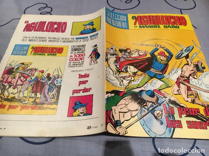 EL AGUILUCHO-N.º 30 LA PEOR DE LAS SUERTES - VALENCIANA 1982. (Tebeos y Comics - Valenciana - Selección Aventurera)