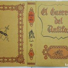 Tebeos: PORTADA TOMO 1, EL GUERRERO DEL ANTIFAZ, EDITORA VALENCIANA. Lote 179191261
