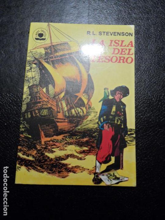 COLECCION LIBROS GRAFICOS Nº 4 LA ISLA DEL TESORO. R.L.STEVENSON. EDITORIAL VALENCIANA 1982 (Tebeos y Comics - Valenciana - Otros)
