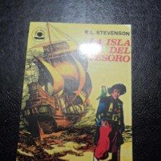 Tebeos: COLECCION LIBROS GRAFICOS Nº 4 LA ISLA DEL TESORO. R.L.STEVENSON. EDITORIAL VALENCIANA 1982. Lote 153731306