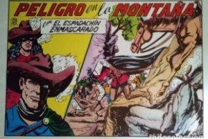 El espadachín enmascarado. Número 60. Peligro en la montaña + odio vencido + odio