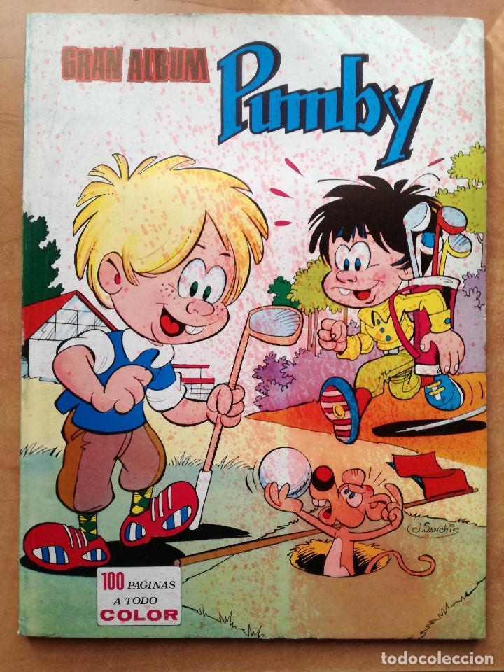 3 PUMBY GRAN ALBUM JUEGOS Nº 13-18-54 GRAN FORMATO EDITORIAL VALENCIANA 1984 (Tebeos y Comics - Valenciana - Pumby)