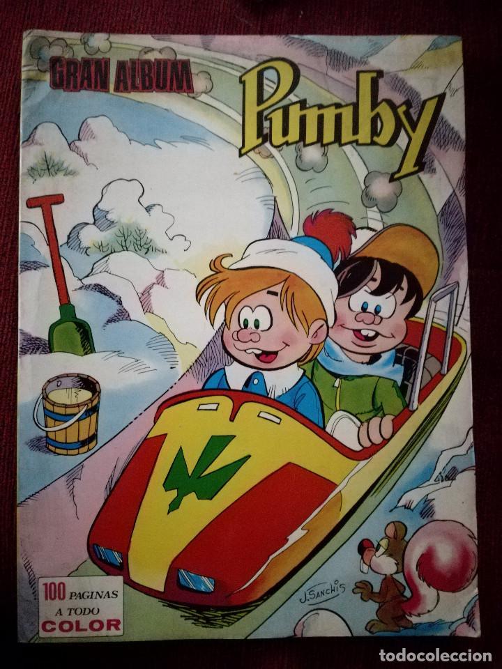 Tebeos: 3 Pumby gran album juegos nº 13-18-54 gran formato Editorial Valenciana 1984 - Foto 3 - 154229786