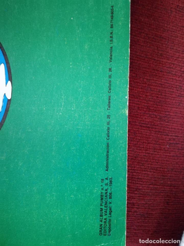 Tebeos: 3 Pumby gran album juegos nº 13-18-54 gran formato Editorial Valenciana 1984 - Foto 7 - 154229786